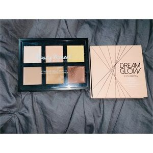 Highlighter and contour palette